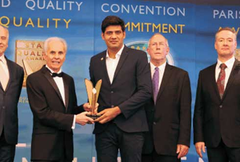 Pathfinder academy World Quality Commitment Award' Paris, France, 16 October, 2016