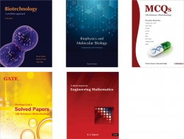 GATE Biotechnology <br> Five book combo set